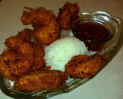 Coconut Shrimp for Two