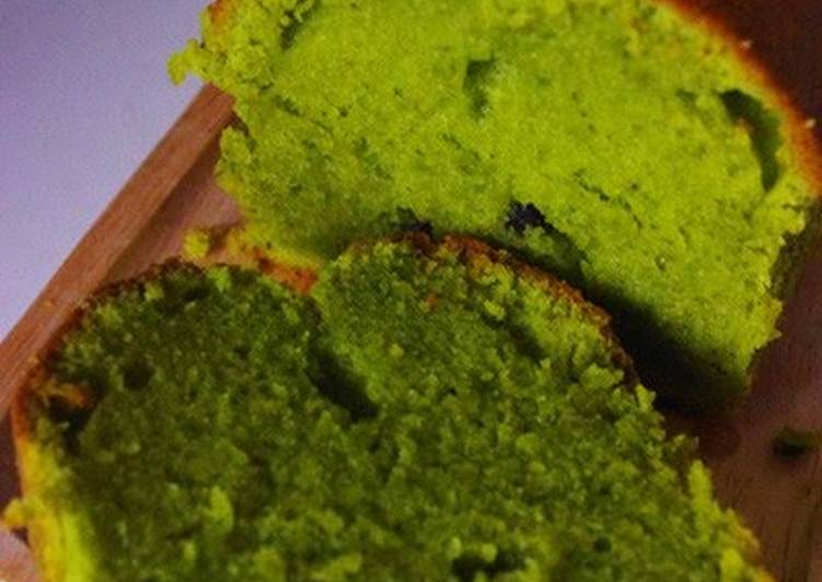 Moist Matcha Pound Cake Recipe By Cookpad Japan Cookpad