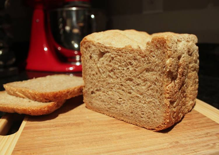 Italian-Style Wheat Bread Recipe by McBritters - Cookpad