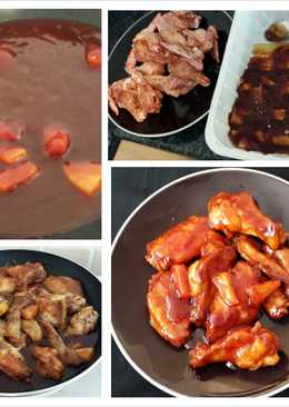 Hennessy wings recipes 7 recipes cookpad hawaiian honey bbq wings forumfinder Choice Image