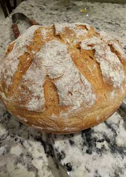 Crazy Easy Crusty Artisan Bread