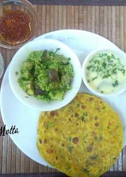 Brinjal Potato Sambhariya