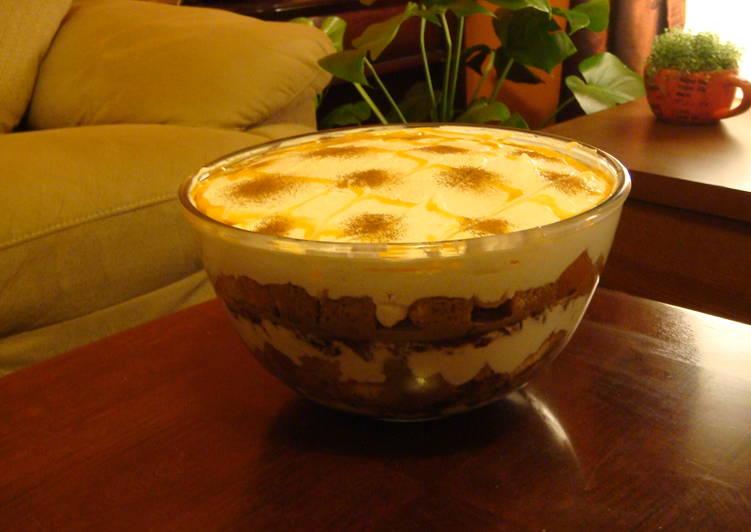 Caramel Apple n Pecan Trifle