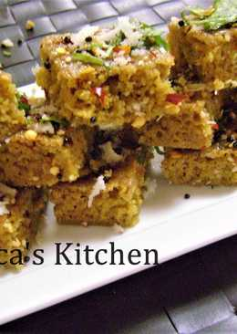 Ramadan Special - Earl Grey Tea Dhokla