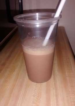 Protein and frappe drink