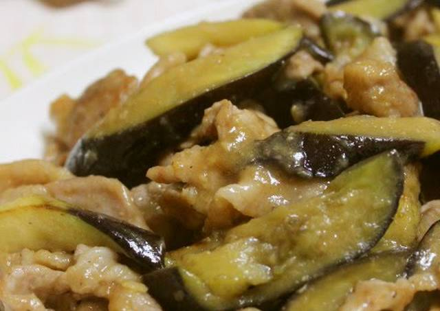 Pork and Eggplant Stir-Fry with Ginger and Miso Recipe by cookpad ...