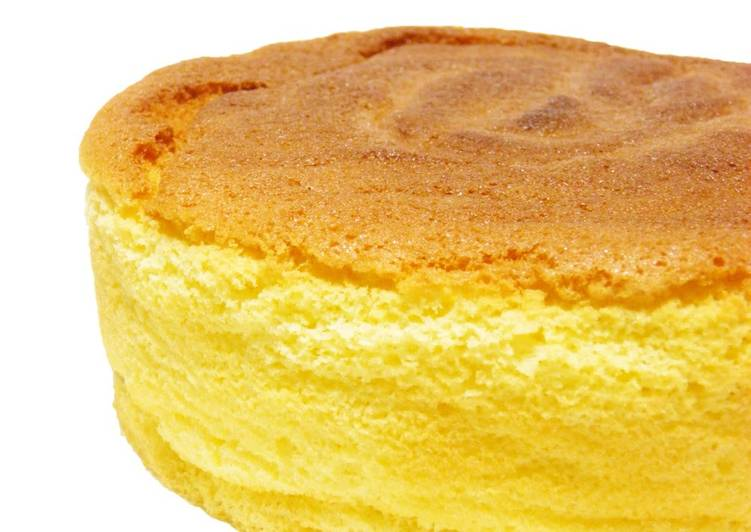 For Beginners Rice Flour Sponge Cake Recipe By Cookpad