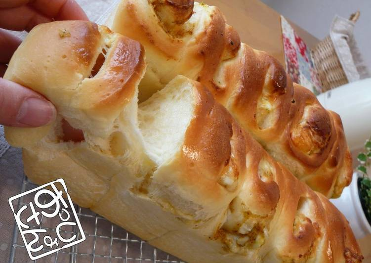 Fluffy and Chewy Okazu Pan (Bread with Savoury Filling)