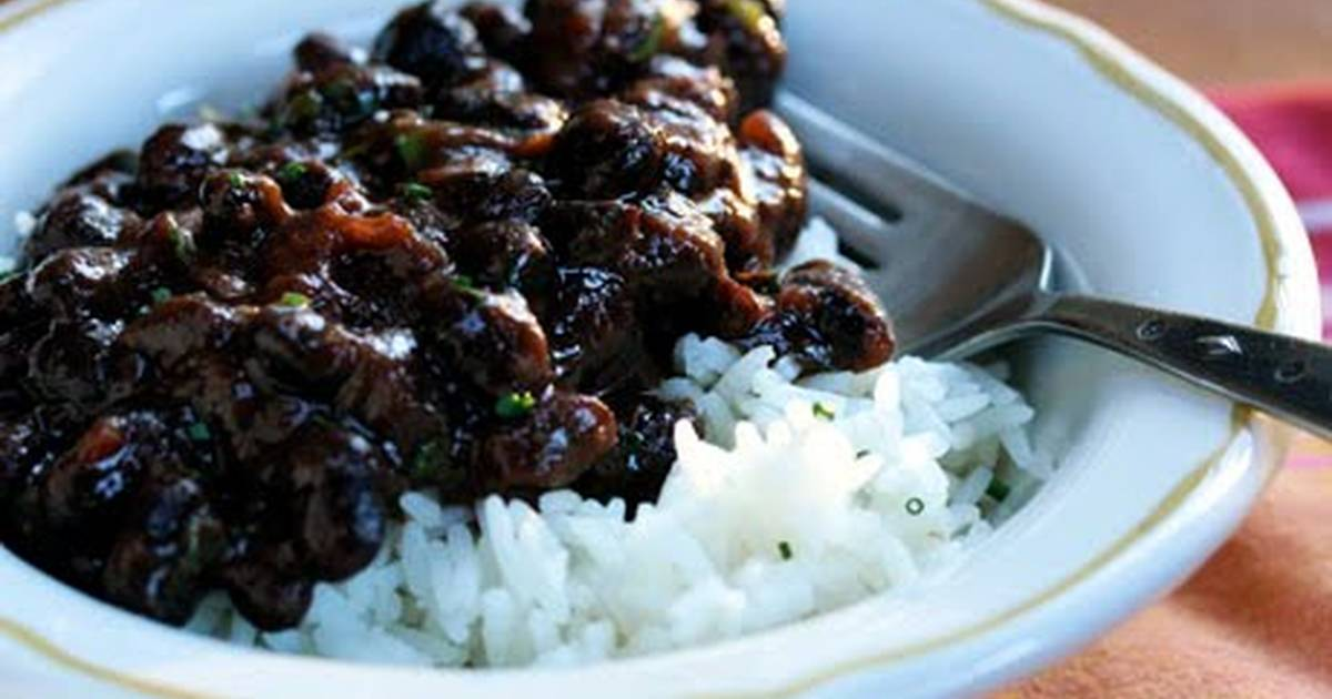 Black Beans (Puerto Rican Style) Recipe by missrizzoli84 ...