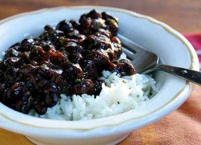 Black Beans (Puerto Rican Style)