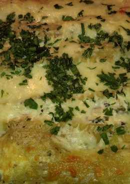 Spinach & artichoke chicken lasagna