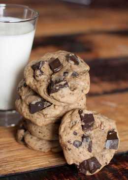 Chocolate Chunk Coffee Cookies