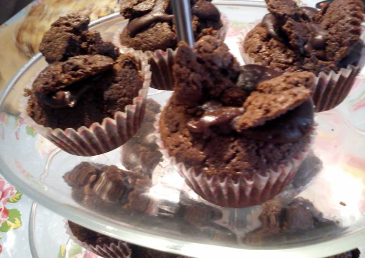 Chocolate Butterfly Cupcakes Recipe By Prfctionisoverrated Cookpad
