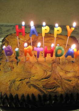 Choco-Vanilla Buttermilk Cake