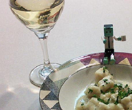 Gnocchi in a Gorgonzola Sauce