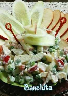Russian Salad (vegetarian)