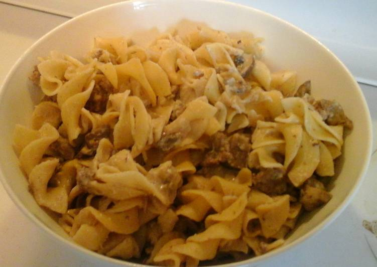 simple budget beef stroganoff recipe by uncommonthreads cookpad