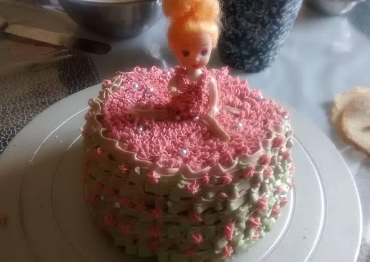 Barbie Doll Cake Recipe By Reshma Kiran Cookpad Kenya
