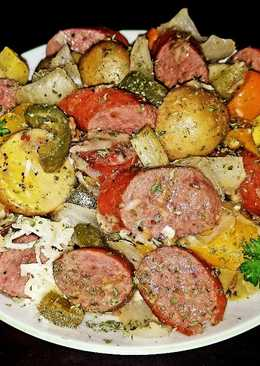 Mike's Andouille Sausage & Vegetable Melody