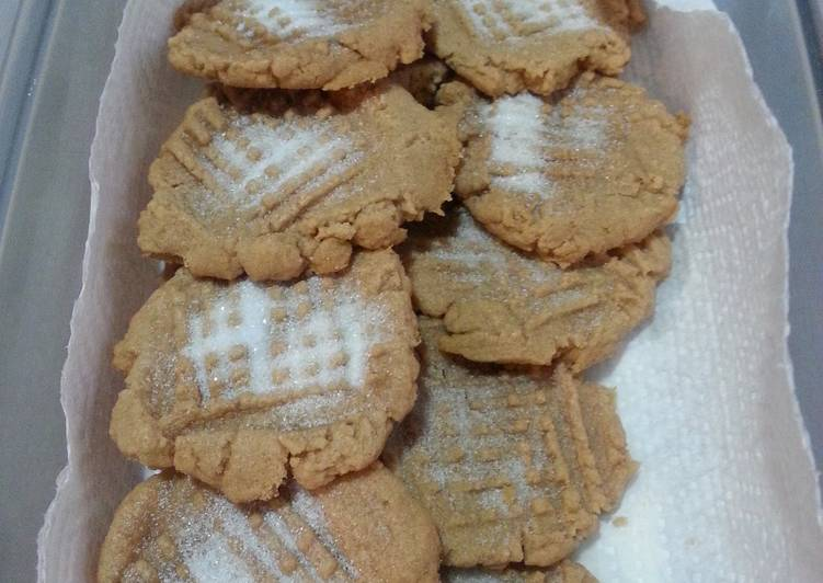 Peanut Butter Cookies No Flour Recipe By Leah Raedel Cookpad