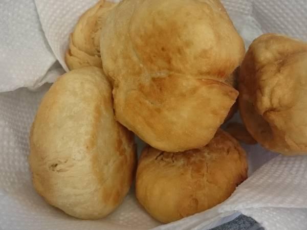 Sweet fried dumplings