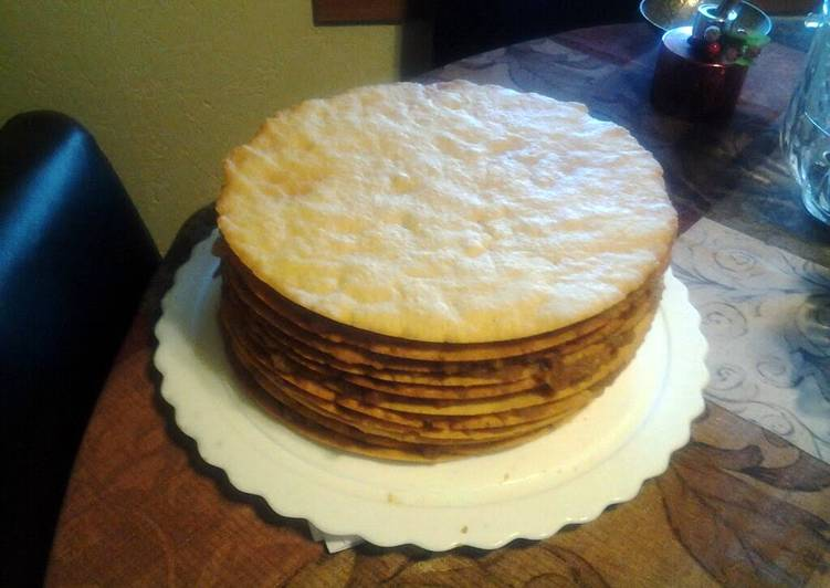 Apple Stack Cake Recipe By Barbie46 Cookpad
