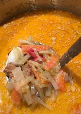 Chokoes soup (Lodeh)
