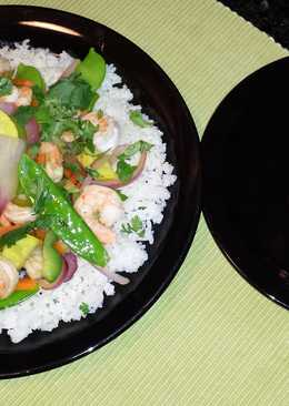 Stir fried shrimp