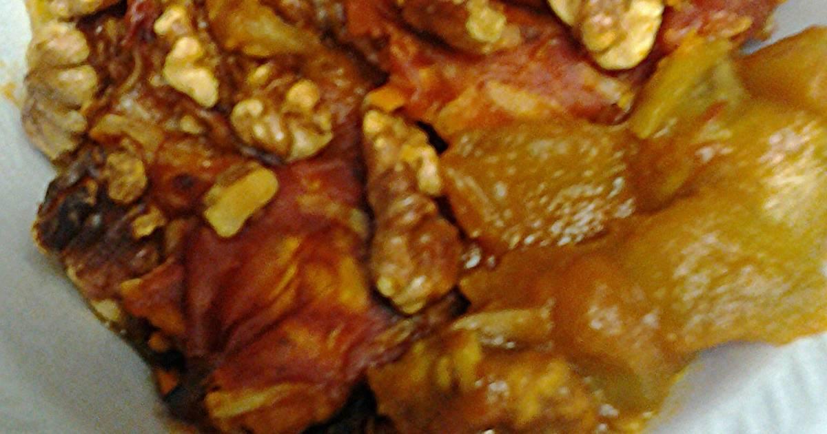 Eggplant pumpkin casserole Recipe by skunkmonkey101 - Cookpad