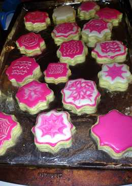 Butter Sugar Cookies And Frosting