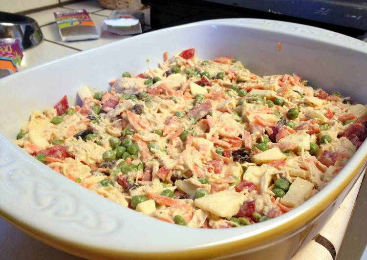 Brazilian Salpicao (Chicken Salad) Recipe by Silvia - Cookpad