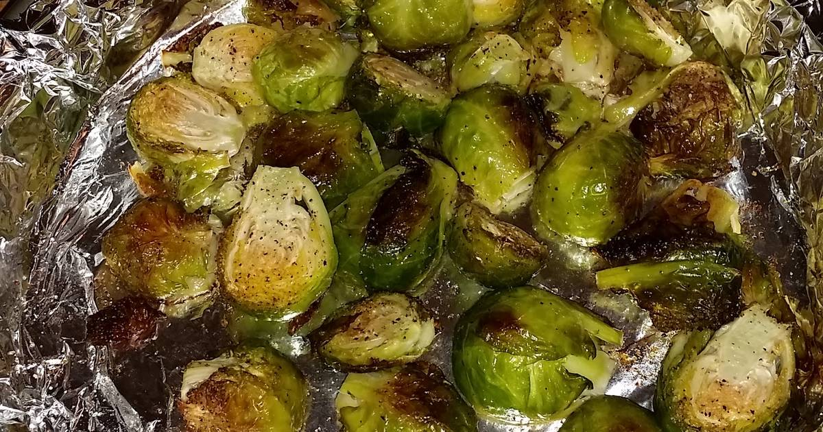 Roasted Brussel Sprouts Organic Recipe By Heidi Gigante