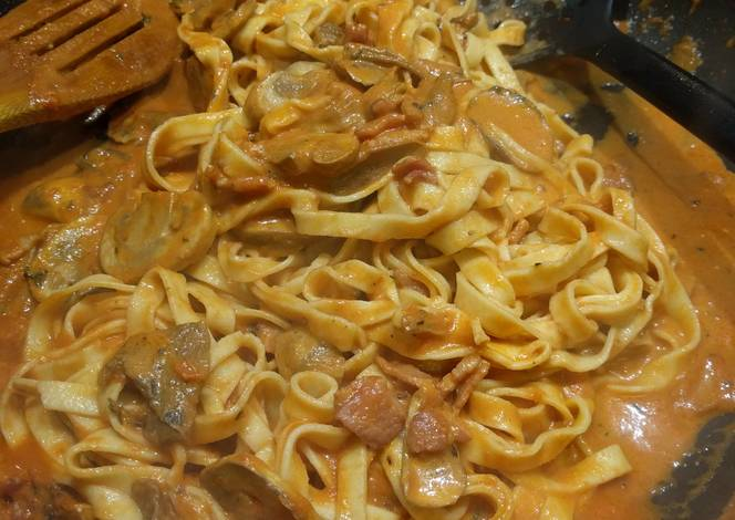 Resep Porcini Mushroom Tagliatelle