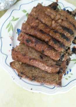 Decadently moist chocolate chip zucchini bread