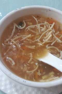 resep masakan chicken noodle soup
