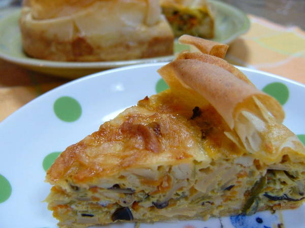 Healthy Chinese-Style Quiche
