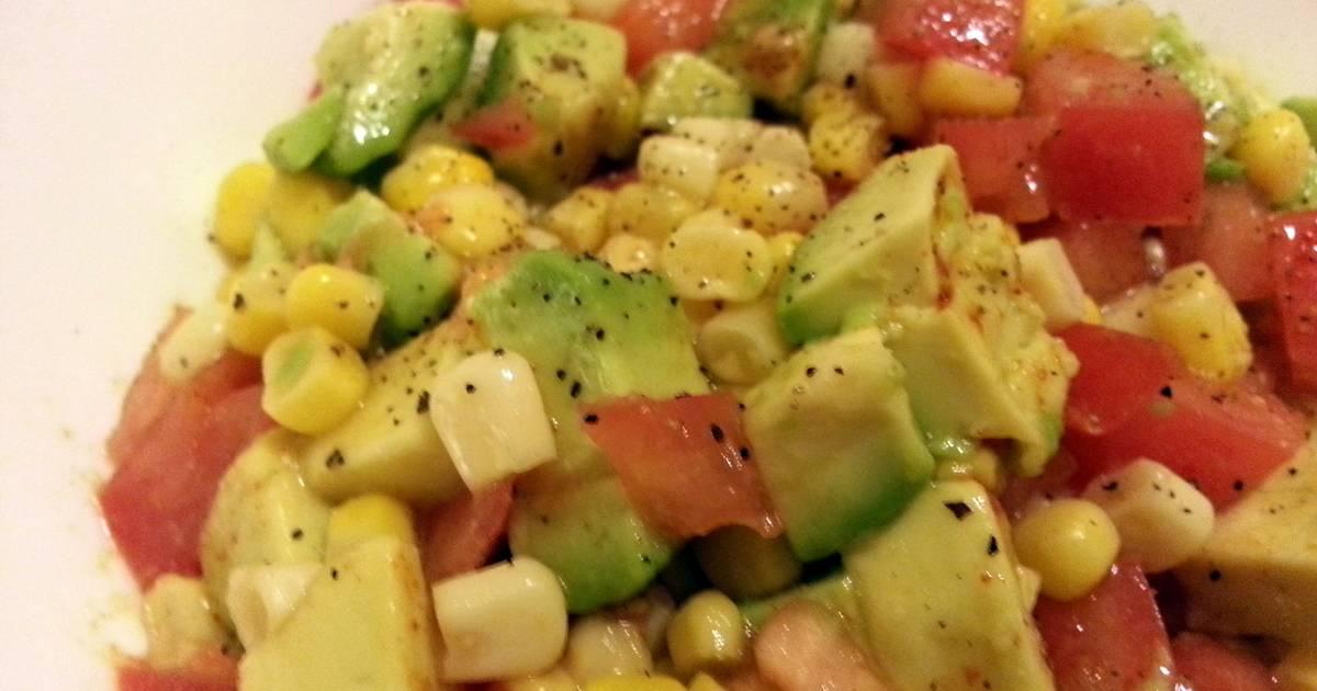 Avocado-Corn Salad Recipe by ChefDoogles