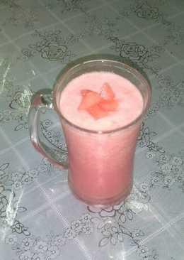 Watermelon milk shake