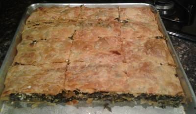 Spanakopita/ Greek Spinach and Feta Pie