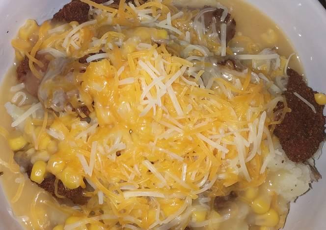 Kfc famous chicken bowl recipe