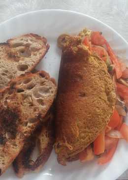 Vegan Gluten-Free Tofu Omlette