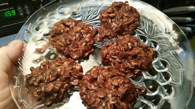 Chocolate No - Bake Cookies