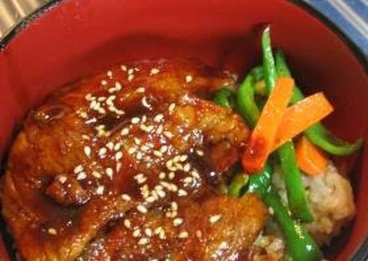 Korean-Style Pork Belly Rice Bowl (with Gochujang) Recipe by