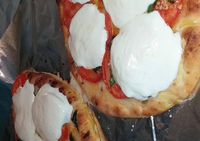 Resep Tomato Basil Flatbread