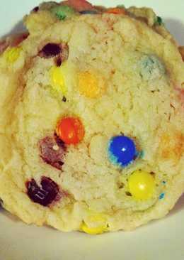 Irvixen's M&M Sugar Cookies - Bakery Style