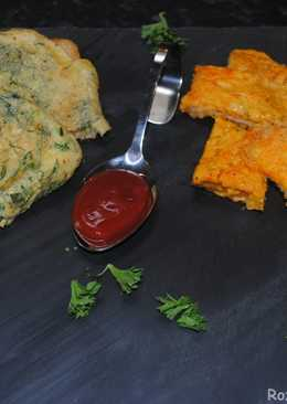 Toasted bread omelette with herbs / cheese