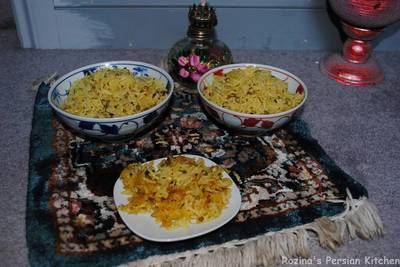 Persian mung beans rice