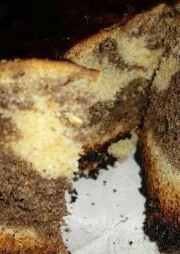 Plum Jaggery marble cake