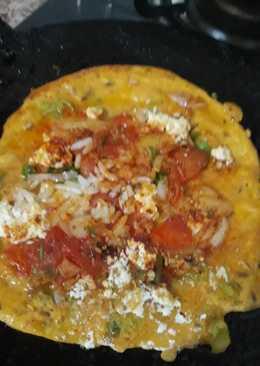 Rice Paneer Pancake