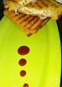 Healthy Paneer sandwich